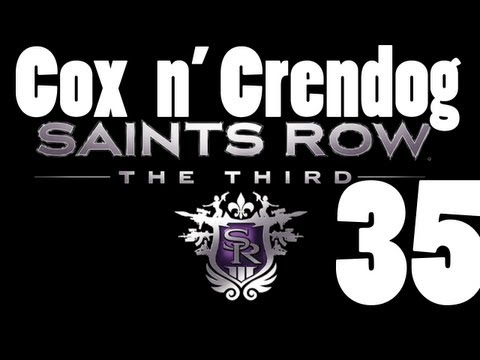 Saints Row the Third Part 35 Damnit Nerdlinger my poor voice