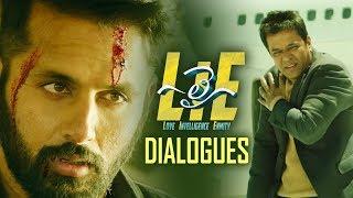 LIE Movie Dialogues | Back 2 Back | Nithiin | Arjun | Megha Akash | TFPC - TFPC