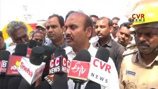 Massive Blaze Mishap in Cold Storage At Guntur | Minister Prathipati Pulla Rao Visits | CVR NEWS - CVRNEWSOFFICIAL
