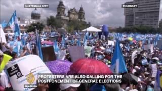 Can corruption be wiped out in Guatemala? - ALJAZEERAENGLISH