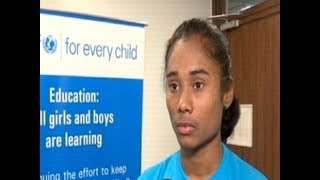 UNICEF India appoints gold medallist Hima Das as youth ambassador - TIMESOFINDIACHANNEL