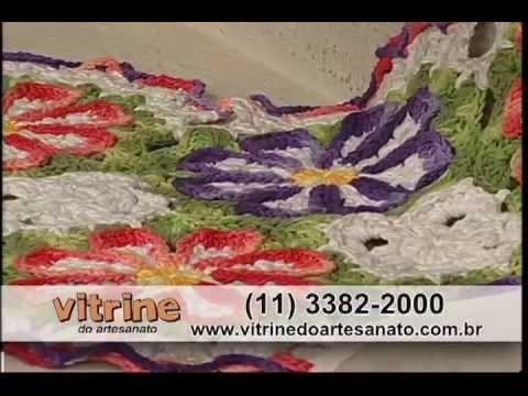 Tapete Corujinha com Cristina Luriko - Vitrine do Artesanato na TV