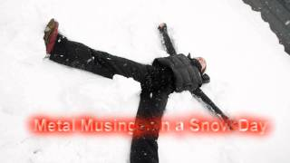 Royalty Free :Metal Musings on a Snow Day