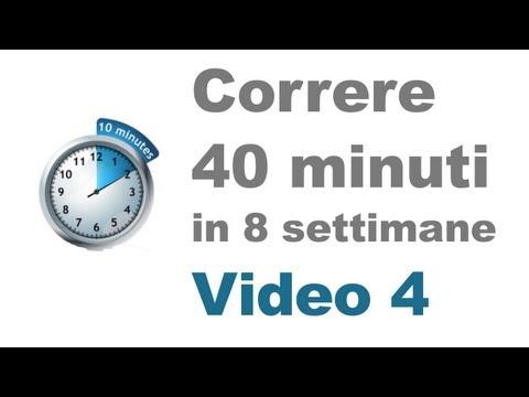 Allenamento Corsa - Correre Correttamente per 10 Minuti (Video 4)