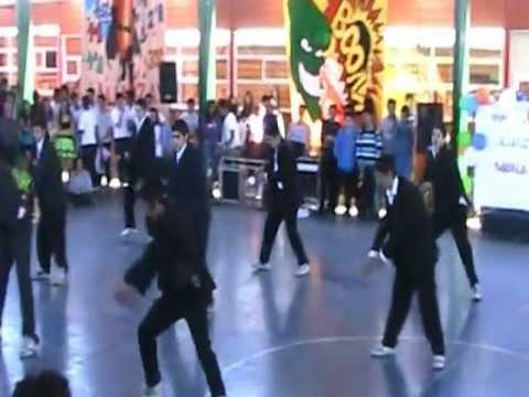 Baile hombres CSR Alianza Azul 2012