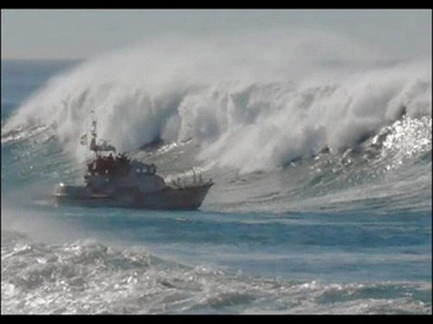 Rogue waves and ship wrecks.