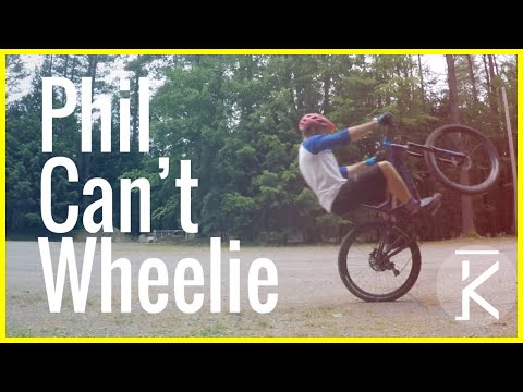 Confessions: I can't wheelie a bike | Skills with Phil