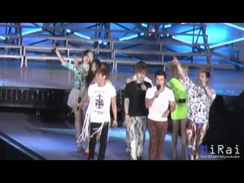 120609 SMTOWN TAIWAN - Super Junior ft. f(x) - OOPS [MiRai]