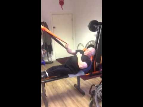 Paraplegic Air Fit Trainer Left & Right Arm assisted Pull U