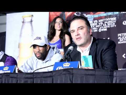 Lucas Matthysse vs Lmaont peterson Post FIght - EsNews Boxing