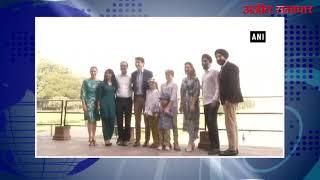 video : कनाडा के पीएम जस्टिन ट्रूडो ने परिवार सहित किया ताजमहल का दीदार