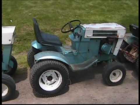 Sears Suburban 12 Garden Tractor One Last Snowplow Before