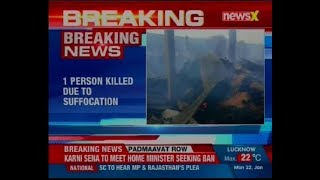 One killed in a fire that broke out at a market in Kolkata - NEWSXLIVE