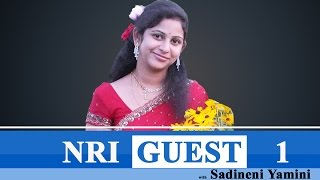 NRI Guest | with Yamini Sadineni on Industrial development in AP and TS | PART 1 : TV5 News - TV5NEWSCHANNEL