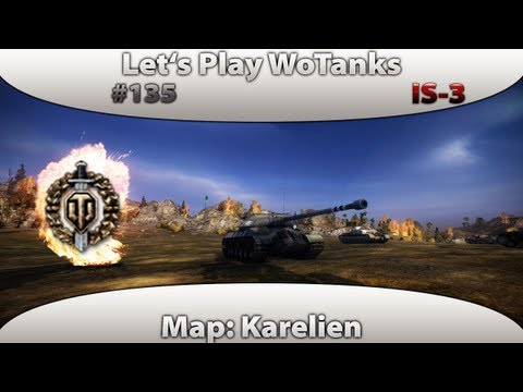 Let's Play World of Tanks - #135 Is-3-Top Gun|Pool Medal[AboReplay|5,6kExpX2]