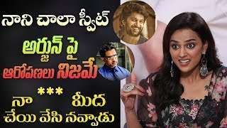 Shraddha Srinath on JERSEY, Nani, supporting allegations against Arjun & more | Indiaglitz Telugu - IGTELUGU