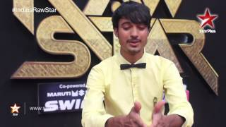 India's Raw Star Web Exclusives: Mohit Gaur glad to be on TV! - STARPLUS