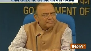 Finance Minister Arun Jaitley addressing Press conference on Coal sector Live - INDIATV