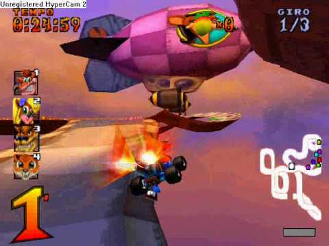 * CTR Crash Team Racing * Trucchi piste per tempi migliori