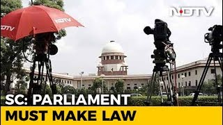 """Time Has Come For Parliament To Keep Criminals Away"", Says Supreme Court - NDTV"