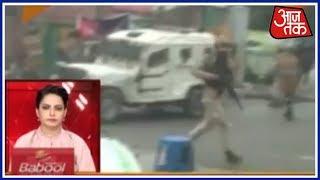 कश्मीर में ईद की नमाज़ के बाद सुरक्षाबलों पर पत्थराव   शतक आजतक - AAJTAKTV