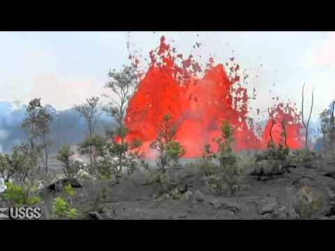 Hawaii Volcano 2011 Kamoamoa fissure eruption six months later