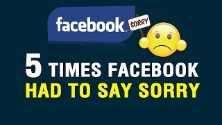 5 instances when Facebook had to say sorry - ZEENEWS