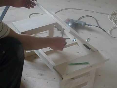 Столик для ноутбука в кровать, своими руками, часть 1