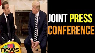 President Trump Participates in a Joint Press Conference | Mango News - MANGONEWS