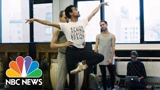 Dancing In Drag: All Male Ballet Redefines Gender Roles | NBC News - NBCNEWS