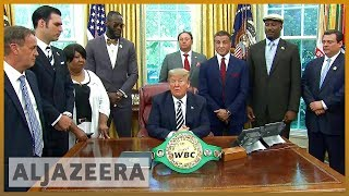🇺🇸 Jack Johnson: Trump posthumously pardons black boxing champion | Al Jazeera English - ALJAZEERAENGLISH