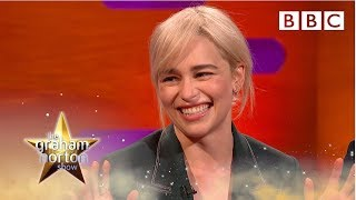 Emilia Clarke explains why Brad Pitt gave her the best night of her life | The Graham Norton Show - BBC