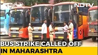 Maharashtra Transport Workers' Strike Illegal: Bombay High Court - NDTV