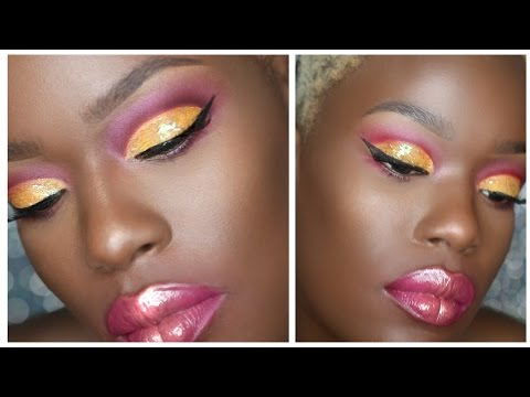 BRIGHT cut crease | Dark Skin BRIGH MAKEUP