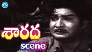 Sarada Movie Scenes - Kaikala Satyanarayana Refuses To Say About Shobhan Babu's Death To Sharada - IDREAMMOVIES