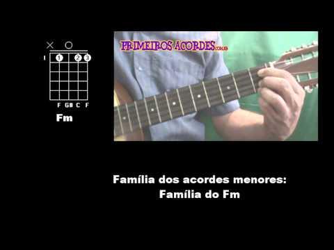 Aprenda os acordes na viola caipira - Aula Iniciante