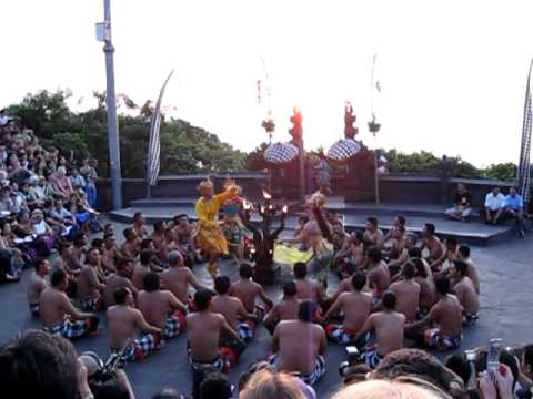 beautiful kecak dance@uluwatu bali