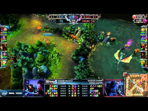 LoL IEM Cologne Fnatic vs CJE [Game 2]