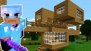 СТРОЮ 3-й ЭТАЖ. Игра Майнкрафт Выживание на русском. Minecraft PE Let's Play. KokaPlay