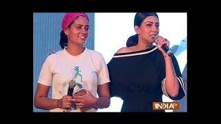 Sushmita Sen and Dia Mirza vouch for Make Your City Safe campaign - INDIATV