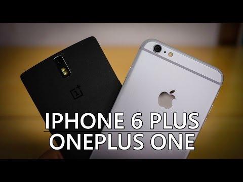 iPhone 6 Plus vs OnePlus One - Quick Look