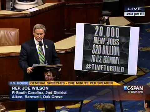 5.20.13 - One Minute Speech: Keystone Pipeline Will Create Jobs
