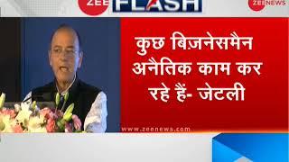'Lender and creditor relationship has blurred,' said finance minister Arun Jaitley - ZEENEWS