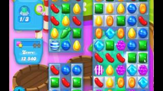 guide, tips, and cheats from Candy Crush Soda Saga Level 129 in video