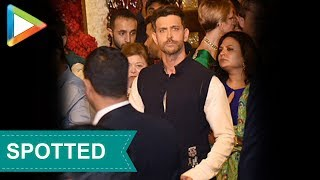 HUNK Hrithik Roshan looked dapper at Isha Ambani- Anand Piramal's grand Wedding Celebrations - HUNGAMA