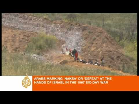 Violence marks 'Naksa' in Golan Heights