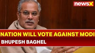Chhattisgarh CM Bhupesh Baghel casts vote in Durg, says India will vote against PM Narendra Modi - NEWSXLIVE