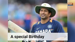Happy Birthday Sachin Tendulkar! A recap of Master Blaster's extraordinary life - INDIATV