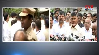 CM Chandrababu Naidu Speaks With Media After Meeting With CM Kumaraswamy and Deve Gowda | CVR News - CVRNEWSOFFICIAL