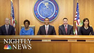 FCC To Vote On Barack Obama-Era Net Neutrality Rules This Week | NBC Nightly News - NBCNEWS